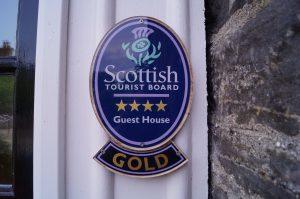 Visit Scotland 4 Star Gold Award